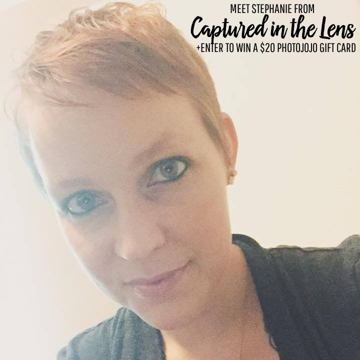 Meet Stephanie from Captured in the Lens and enter to win a $20 Photojojo Gift Card