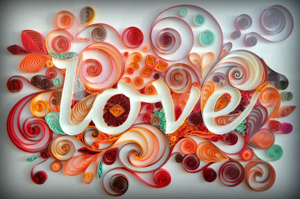 Love Quilled Art