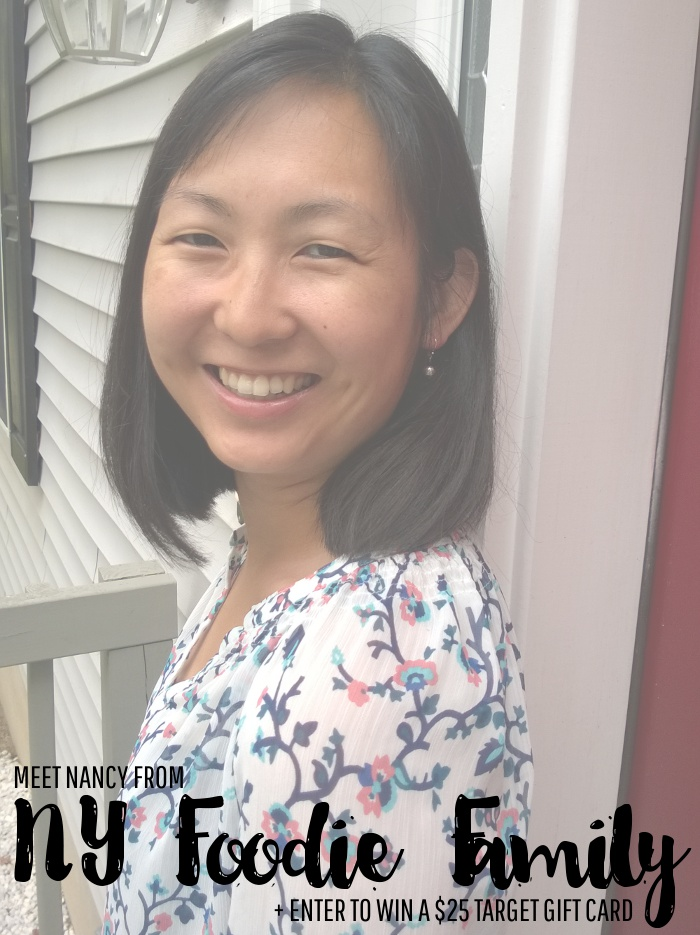 Meet Nancy from NY Foodie Family and Enter to Win a $25 Target Gift Card!
