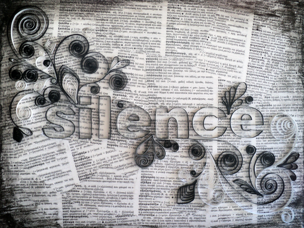 Silence Quilled Art