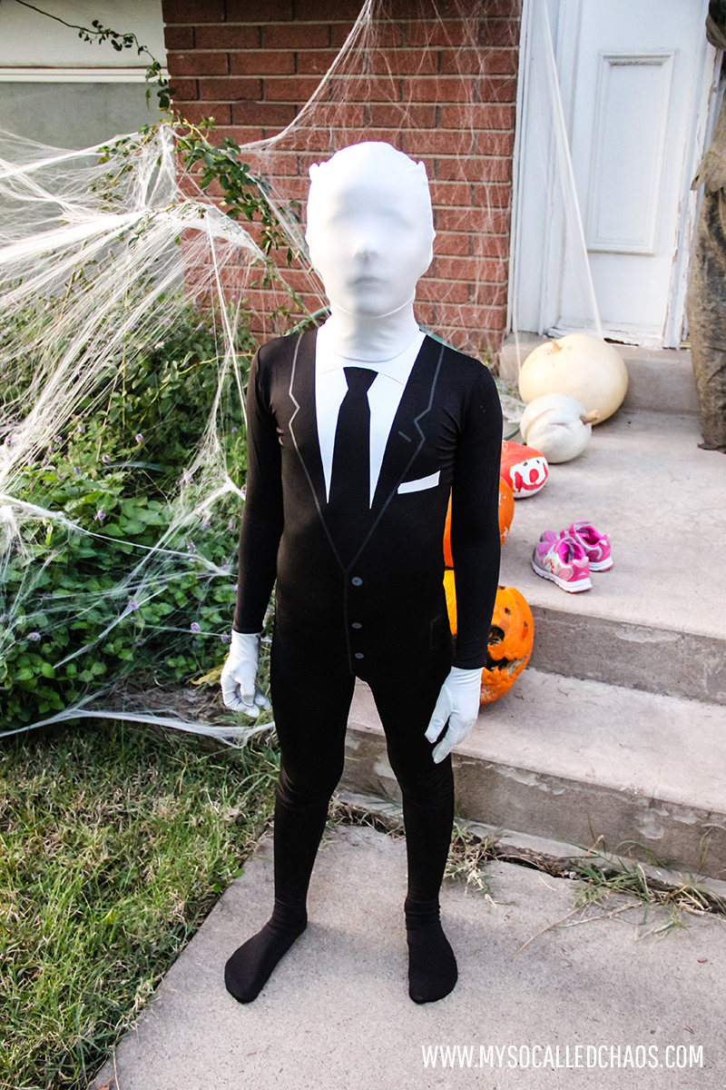 Kaden as Slenderman