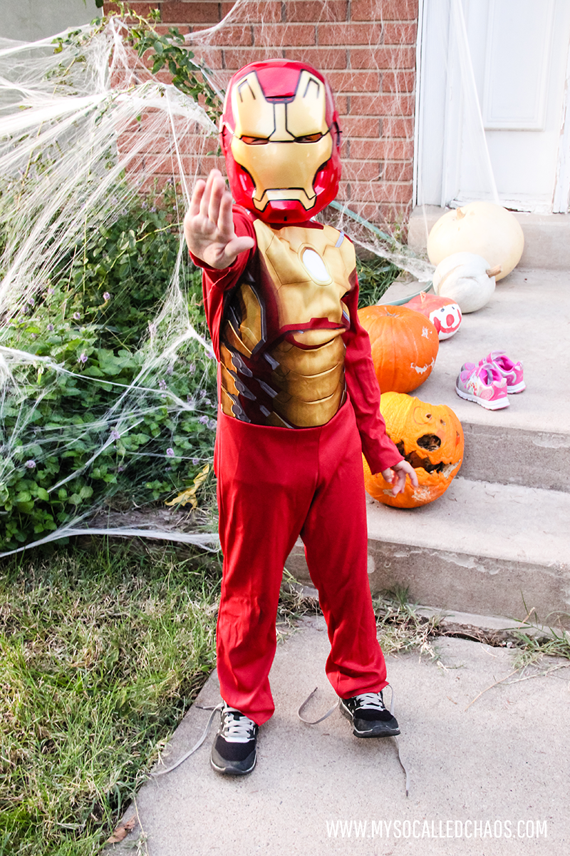 Jimmy as Iron Man