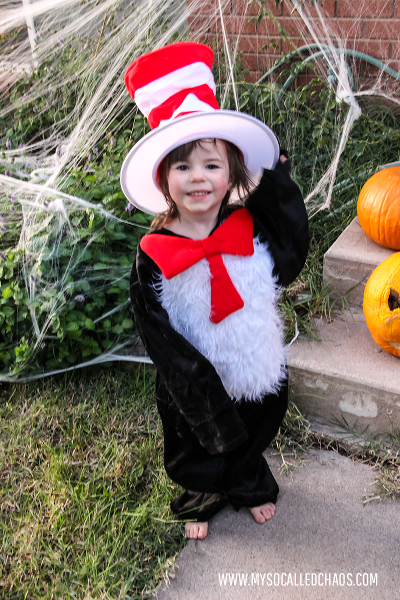 Kat as Cat in the Hat