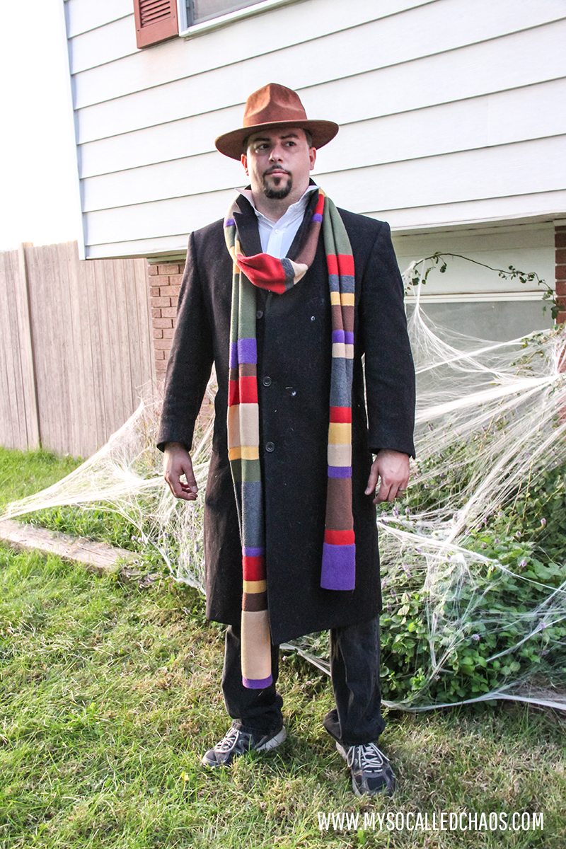 Ken as The Fourth Doctor