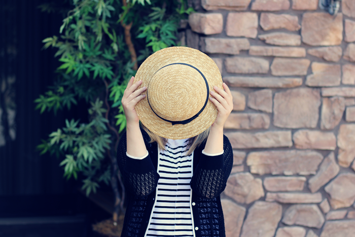 Cindy from Classic on the Sidewalk says that a straw hat is a wardrobe staple you need!