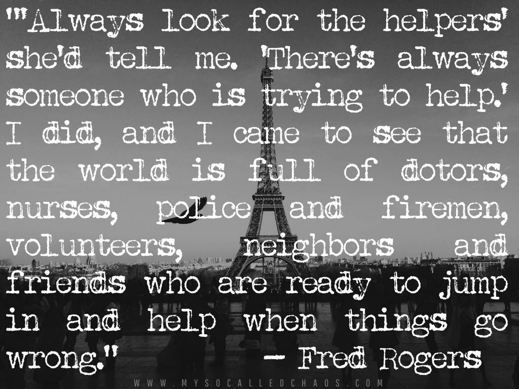 La Solidarité Humaine | Look for the Helpers...