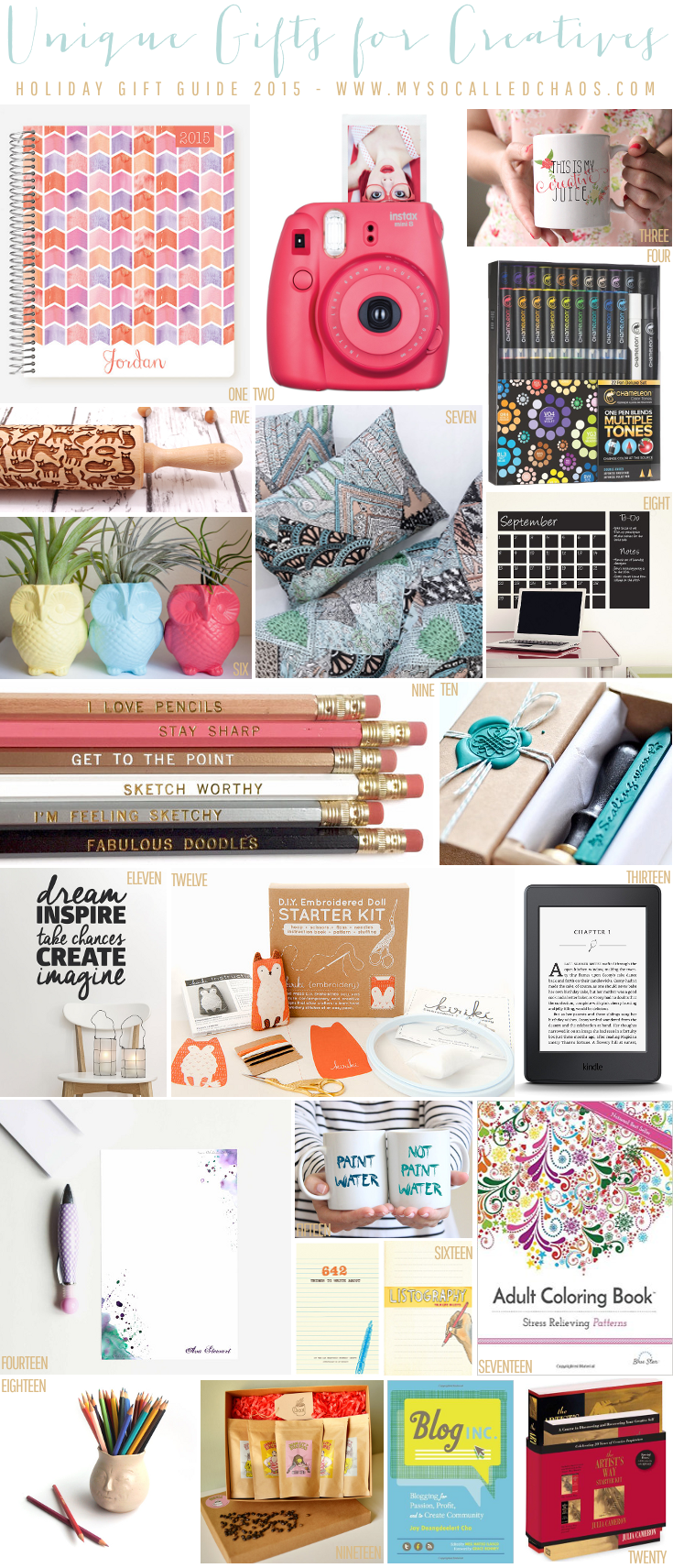 20+ Unique Gifts for Creatives