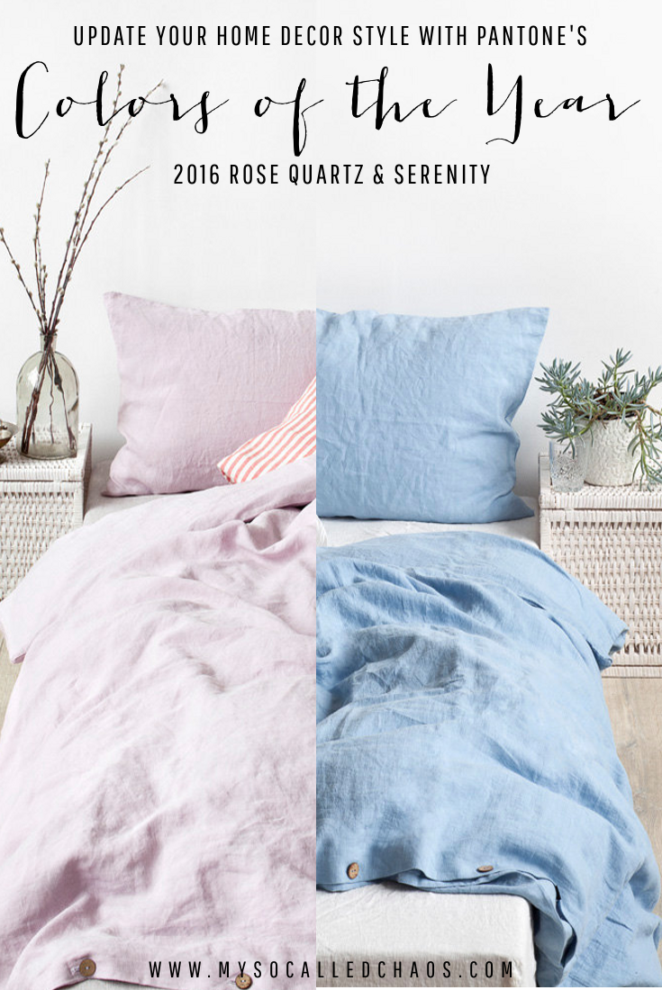 Update Your Home with Pantone's Colors of the Year