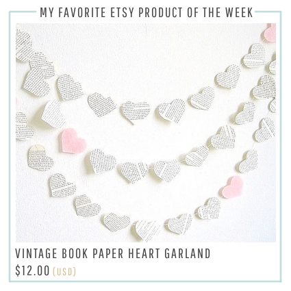 Book Hearts Banner