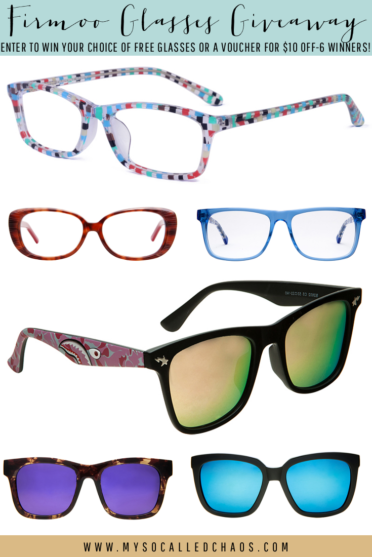 Enter to win a pair of Firmoo Glasses!