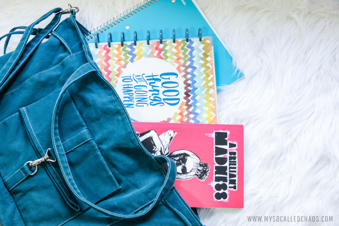 What's In My Bag | Spring Semester of College Edition