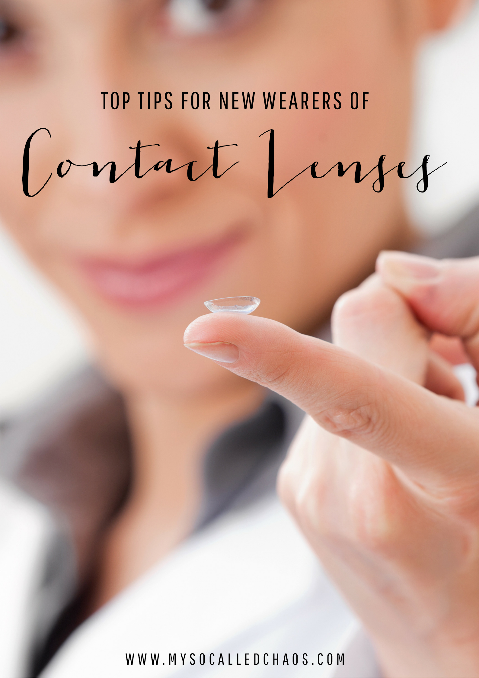 Top Tips for New Contact Lens Wearers
