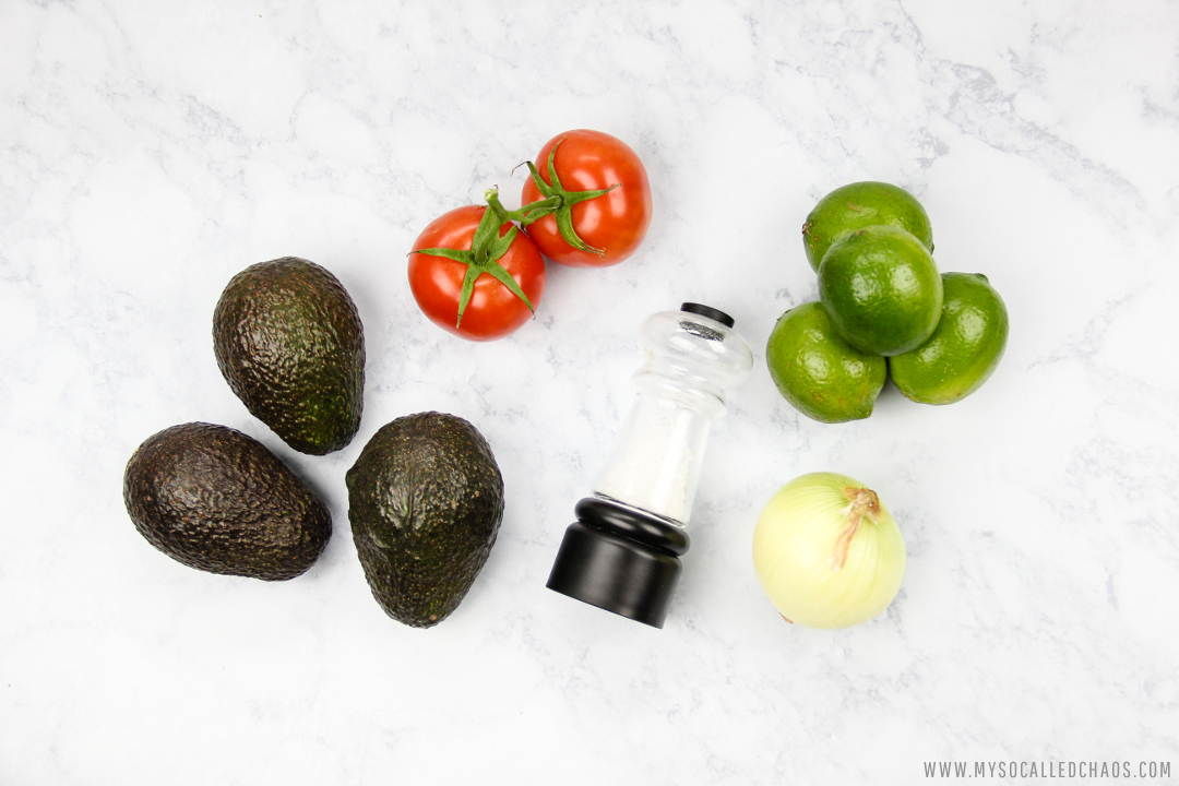 What You'll Need to Make Chunky Guacamole