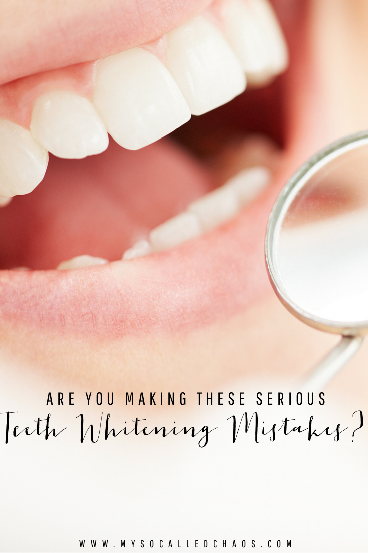 Are you making these serious teeth whitening mistakes?