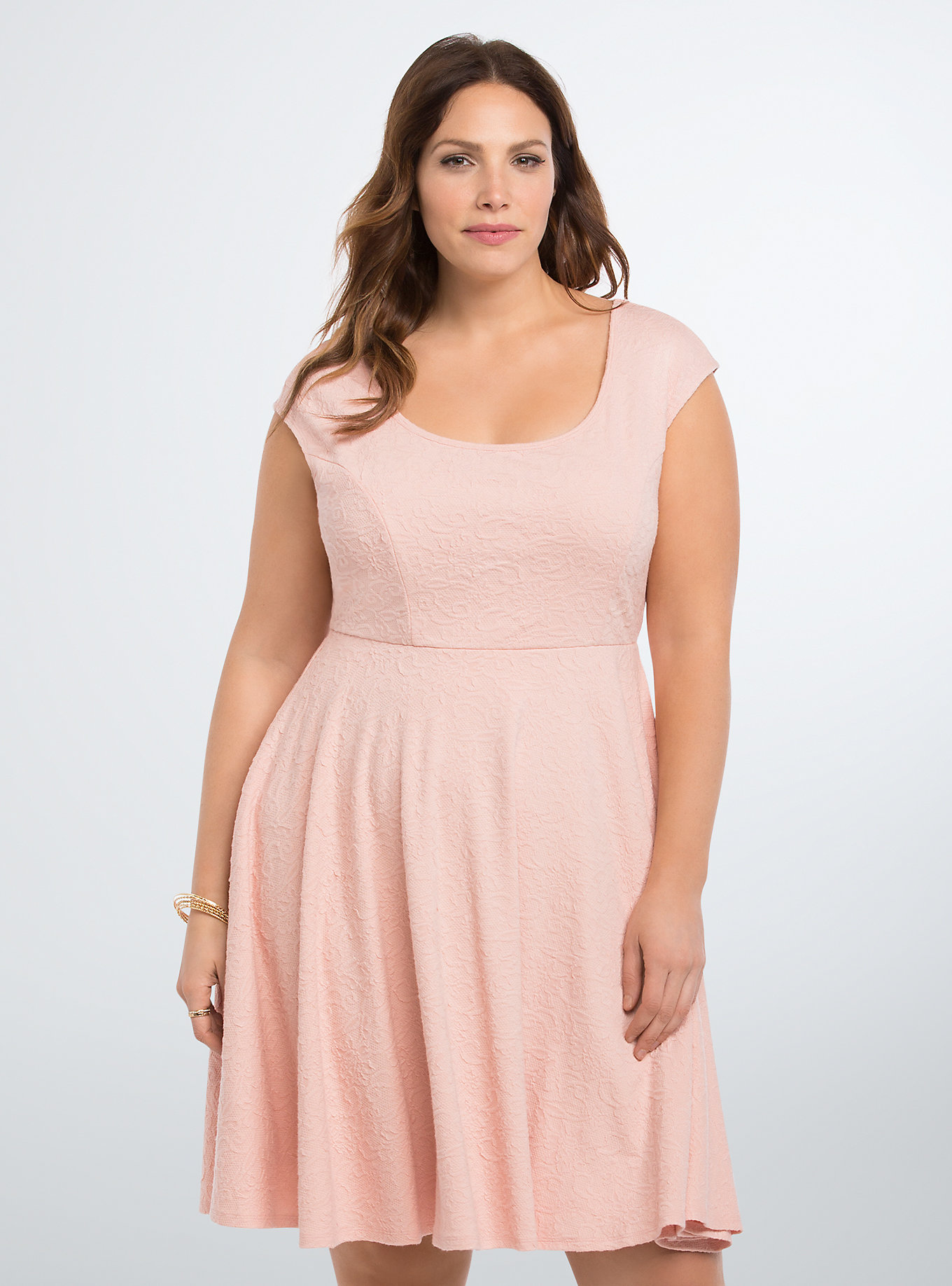Double Knit Skater Dress at Torrid