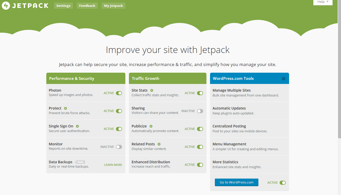 Wordpress Plugins You Should Be Using | Jetpack WordPress Plugin