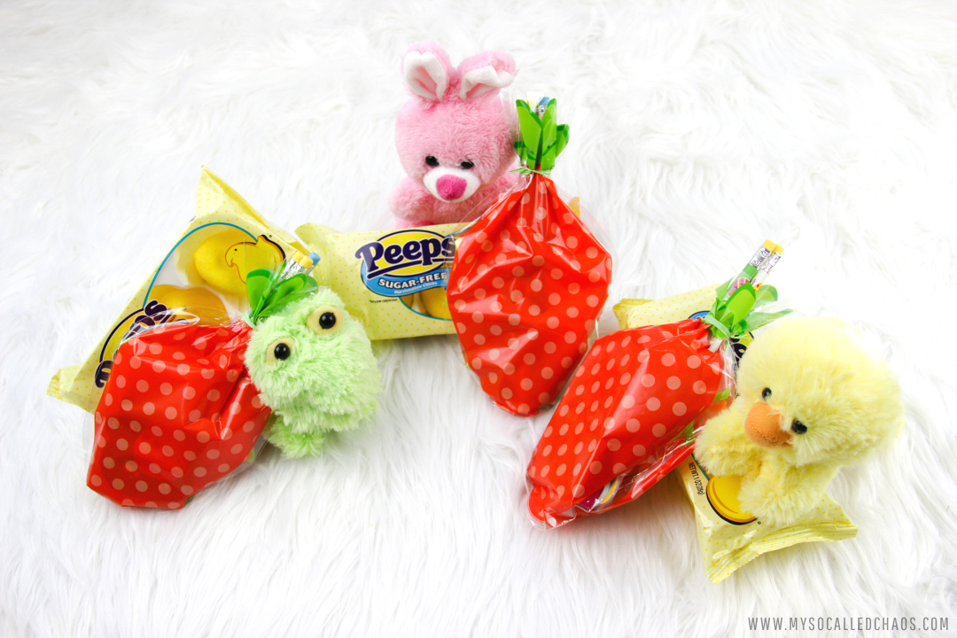 DIY Easy Sugar Free Easter Goodie Bags with PEEPS®