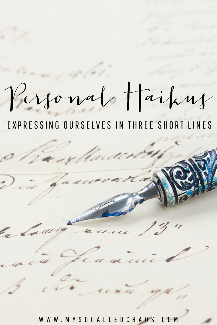 Personal Haiku | Expressing Ourselves in Three Short Lines