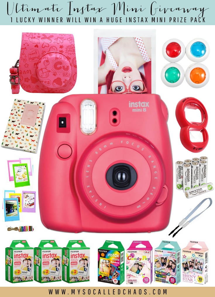 HUGE Instax Mini Giveaway