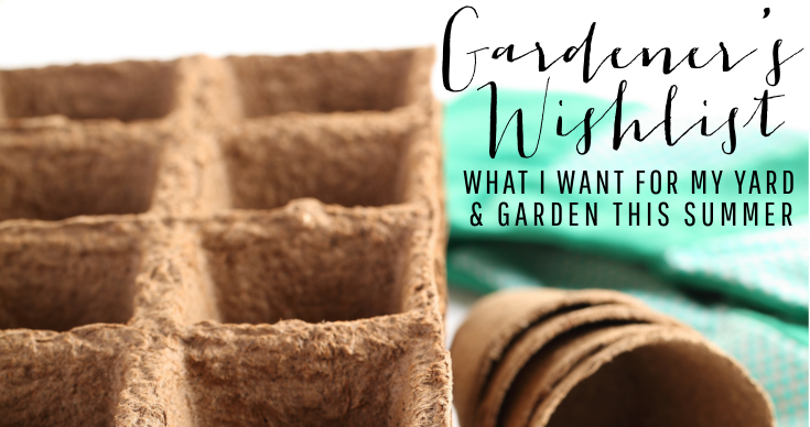 Gardener's Wishlist | My Yard & Garden this Summer