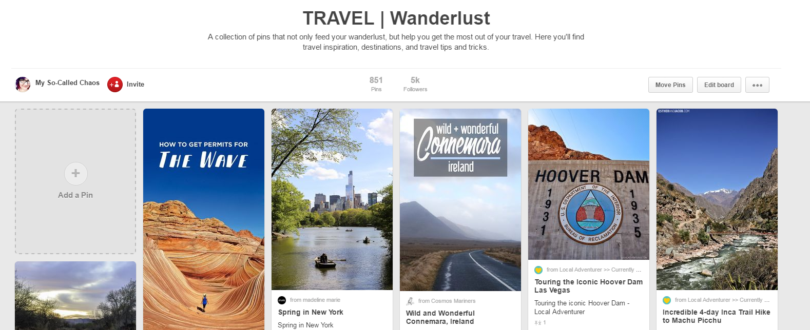 Rock Your Pinterest Profile: Add Descriptions with Key Words to Your Pinterest Boards