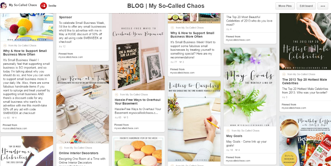 Choose fonts for your Pinterest-worthy images that look good together and match your site for brand recognition.