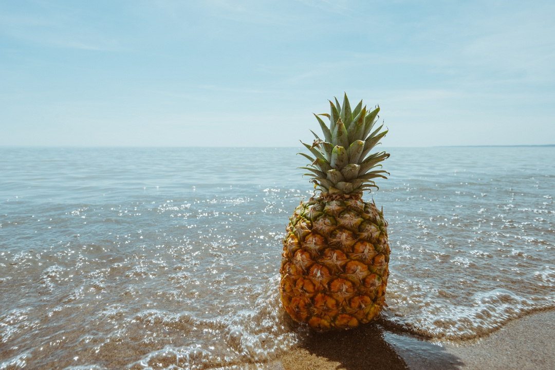 Pinterest-Worthy Pineapple Photo from Unsplash.com