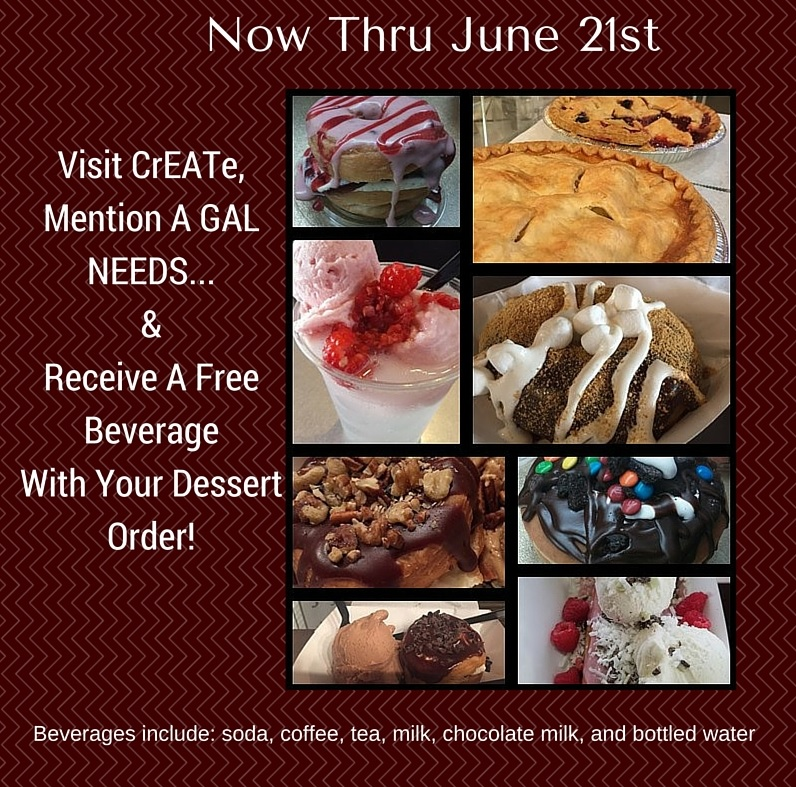 Enter to Win Dessert for a Year from CrEATe Desserts Utah