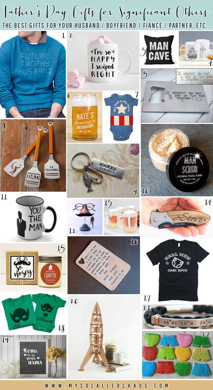 Handmade Father's Day Gifts for Your Significant Other - Boyfriends, Husbands, Partners-in-Crime, etc. They'll love these!
