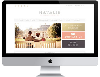 Natalie ECommerce WordPress Theme by Lovely Confetti