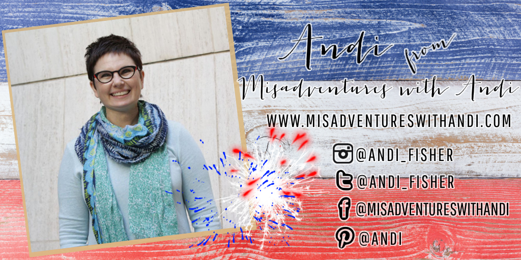 Meet My July Sponsors: Andi of Misadventures with Andi