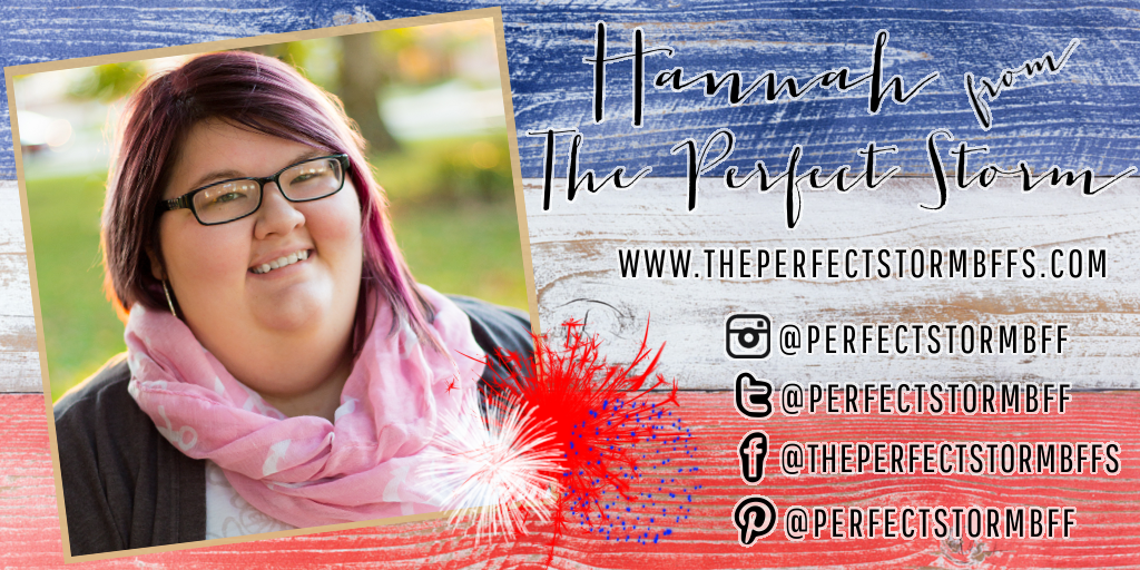 Meet My July Sponsors: Hannah of The Perfect Storm