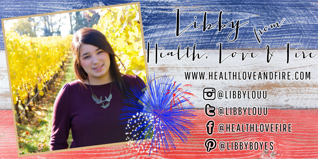 Meet My July Sponsors: Libby of Health, Love & Fire