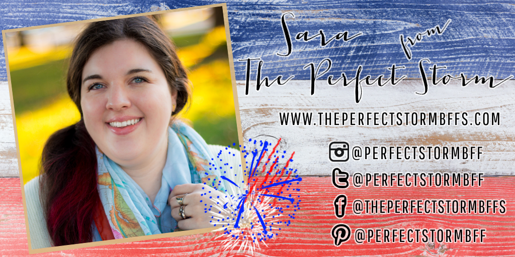 Meet My July Sponsors: Sara of The Perfect Storm
