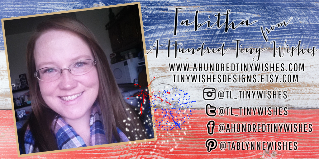 Meet My July Sponsors: Tabitha of A Hundred Tiny Wishes