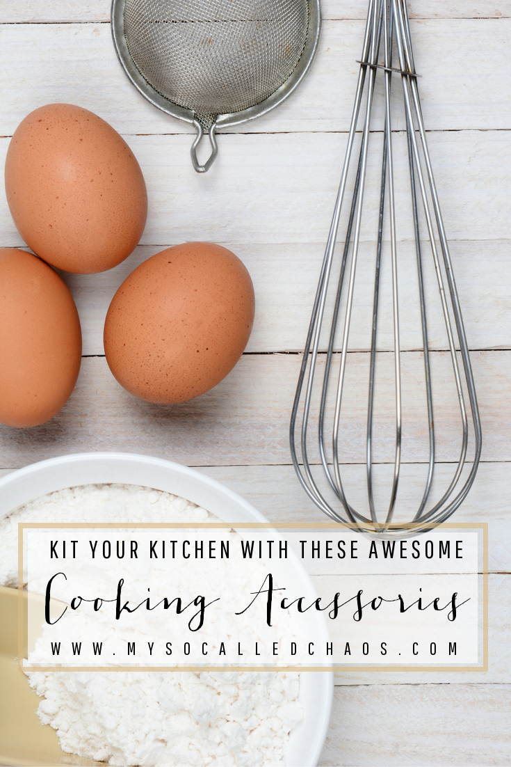 Kit Your Kitchen Out With These Awesome Cooking Accessories