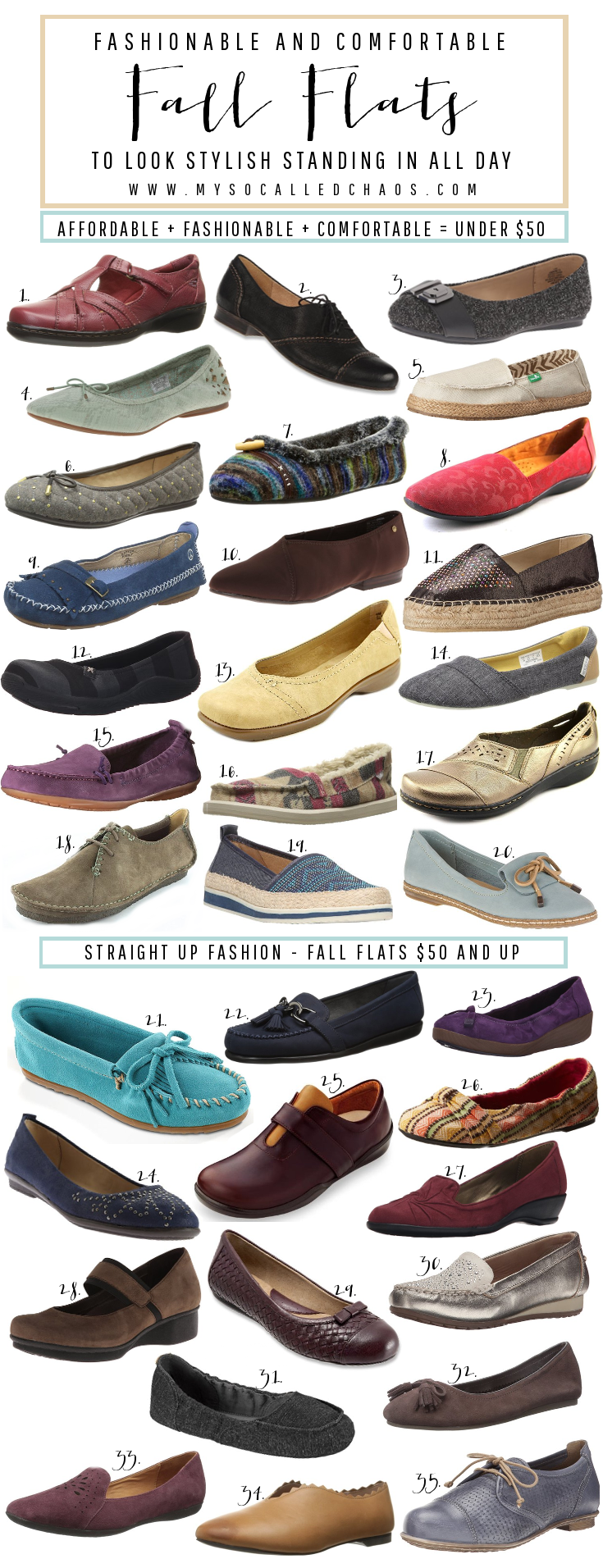 Fashionable and Comfortable Fall Flats You Can Stand In All Day
