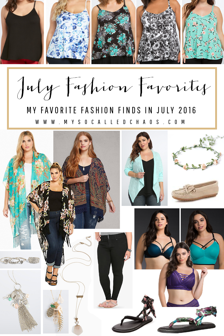 July Fashion Favorites