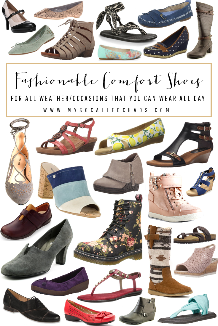 The Ultimate List of Fashionable and Comfortable Shoes