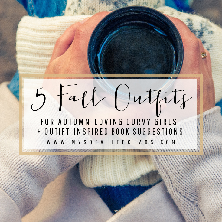 5 Fall Outfits for Autumn-Loving Curvy Girls + Suggested Books
