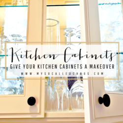 Give Your Kitchen Cabinets a Makeover