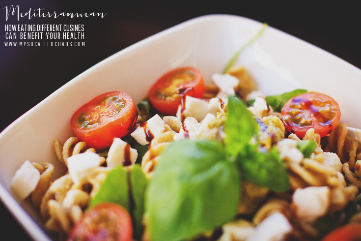 Mediterranean Cuisine and it's benefits to your health.