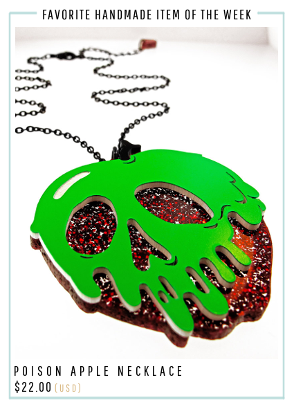 Poison Apple Necklace