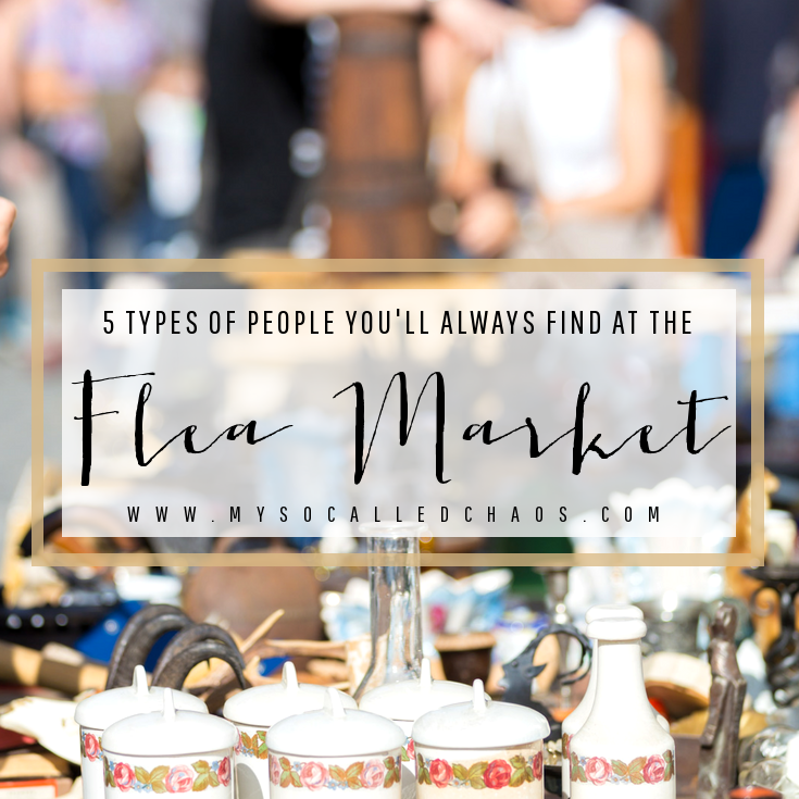 Five Types of People You'll Always Find at the Flea Market