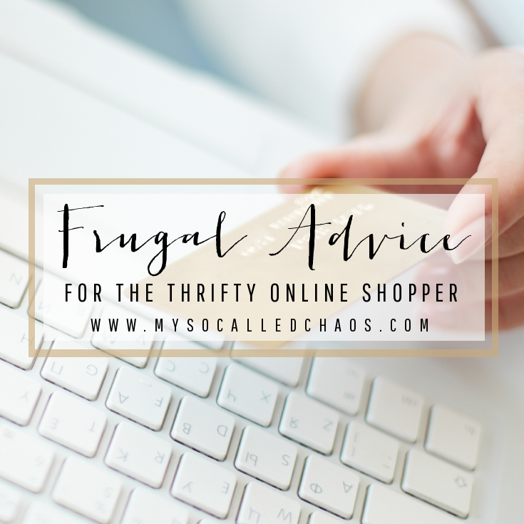 Frugal Advice for the Thrifty Online Shopper