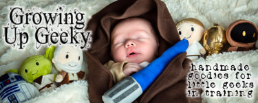 Growing Up Geeky Baby Jedi