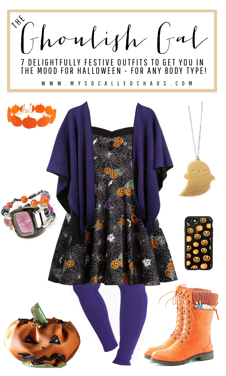 7 Delightfully Festive Halloween Outfits for Any Body Type: The Ghoulish Gal (Featuring items from ModCloth, Torrid, Kukee UK, and more!)