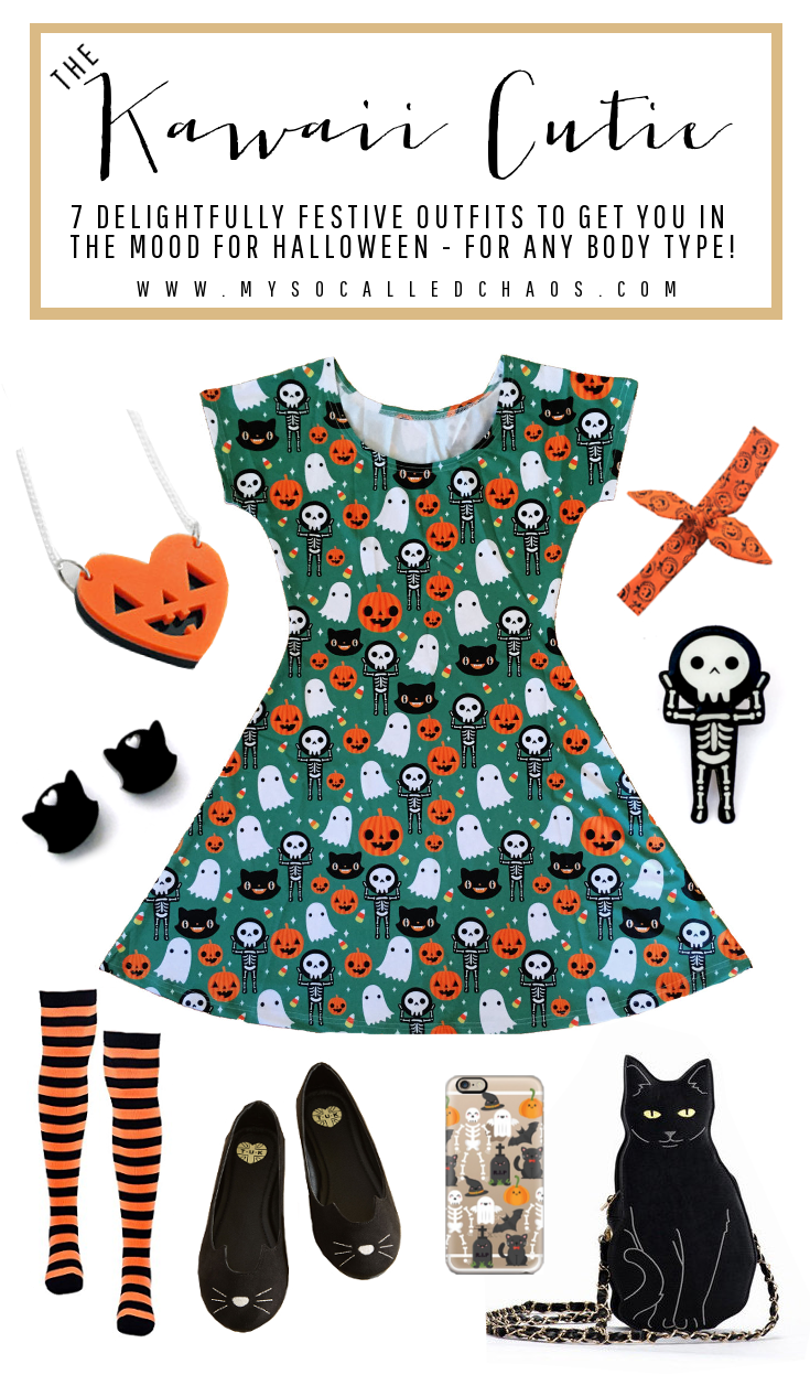 7 Delightfully Festive Halloween Outfits for Any Body Type: The Kawaii Cutie (featuring Em & Sprout, OOOWorkshop, Modcloth, and more!)