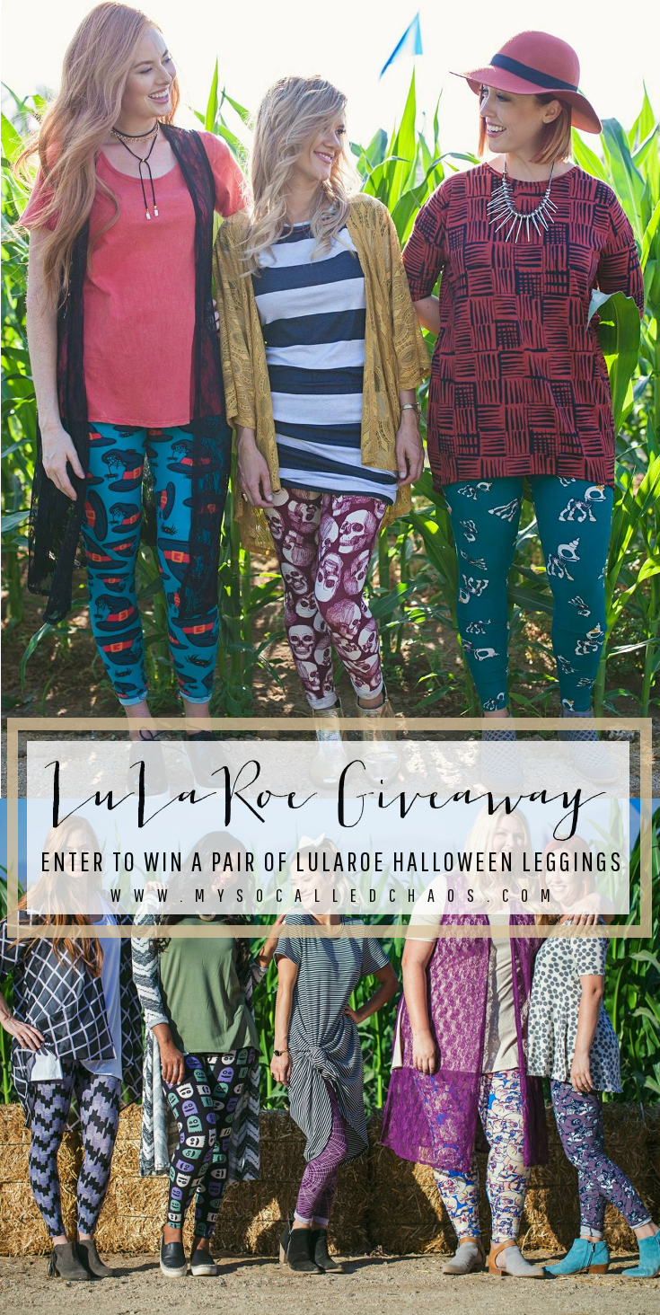 LuLaRoe Halloween Leggings Giveaway