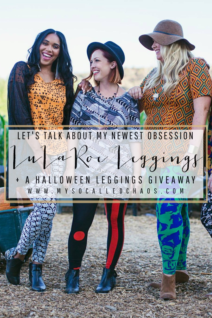 LuLaRoe: My Newest Obsession & a Halloween Leggings Giveaway
